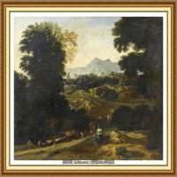 19世纪法国巴比松派画家让弗朗索瓦米勒Jean Francois Millet绘画作品集现实主义画家米勒 (44)