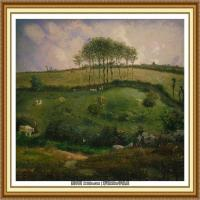 19世纪法国巴比松派画家让弗朗索瓦米勒Jean Francois Millet绘画作品集现实主义画家米勒 (26)