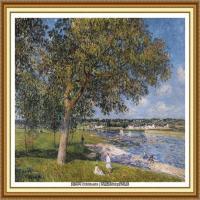 阿尔弗莱德西斯莱Alfred Sisley法国印象派画家世界著名画家风景油画高清图片 (33)