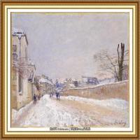 阿尔弗莱德西斯莱Alfred Sisley法国印象派画家世界著名画家风景油画高清图片 (30)