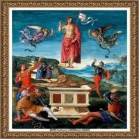 意大利杰出的画家拉斐尔Raphael神将治愈God has healed油画作品高清大图 (76)