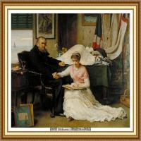 十九世纪英国画家约翰埃弗里特米莱斯John Everett Millais拉斐尔前派画家 (10)