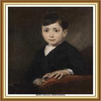 19世纪法国巴比松派画家让弗朗索瓦米勒Jean Francois Millet绘画作品集现实主义画家米勒 (38)