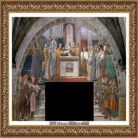 意大利杰出的画家拉斐尔Raphael神将治愈God has healed油画作品高清大图 (84)