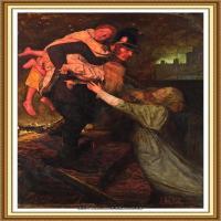 十九世纪英国画家约翰埃弗里特米莱斯John Everett Millais拉斐尔前派画家 (8)