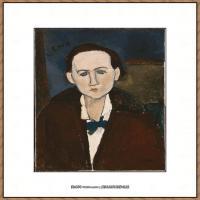 阿梅代奥莫迪利亚尼Amedeo Modigliani意大利著名画家绘画作品集油画作品高清图片Elena Povolozk