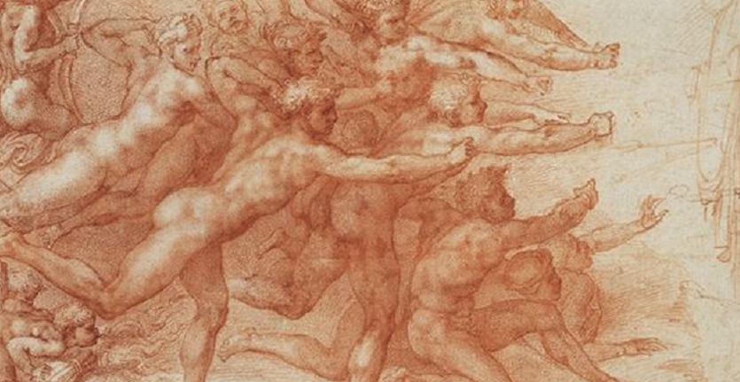 米开朗基罗Michelangelo-素描展