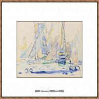 保罗西涅克Paul Signac法国新印象派点彩派大师西涅克绘画作品集St