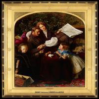 十九世纪英国画家约翰埃弗里特米莱斯John Everett Millais拉斐尔前派画家 (39)