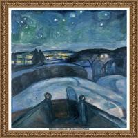 爱德华蒙克Edvard Munch挪威表现主义画家绘画作品集蒙克作品高清图片 (21)