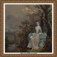 英国画家托马斯庚斯博罗Thomas Gainsborough肖像画家及风景图片 (115)