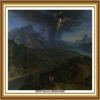 19世纪法国巴比松派画家让弗朗索瓦米勒Jean Francois Millet绘画作品集现实主义画家米勒 (53)