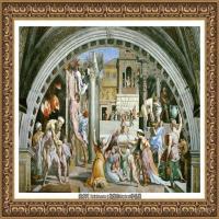 意大利杰出的画家拉斐尔Raphael神将治愈God has healed油画作品高清大图 (91)