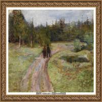 爱德华蒙克Edvard Munch挪威表现主义画家绘画作品集蒙克作品高清图片 (35)