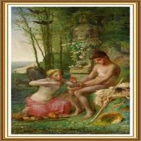 19世纪法国巴比松派画家让弗朗索瓦米勒Jean Francois Millet绘画作品集现实主义画家米勒 (10)