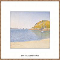 保罗西涅克Paul Signac法国新印象派点彩派大师西涅克绘画作品集Port_of_SaintCast