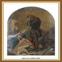 十九世纪英国画家约翰埃弗里特米莱斯John Everett Millais拉斐尔前派画家 (30)