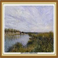 阿尔弗莱德西斯莱Alfred Sisley法国印象派画家世界著名画家风景油画高清图片 (36)