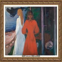 爱德华蒙克Edvard Munch挪威表现主义画家绘画作品集蒙克作品高清图片 (17)