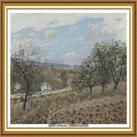 阿尔弗莱德西斯莱Alfred Sisley法国印象派画家世界著名画家风景油画高清图片 (8)