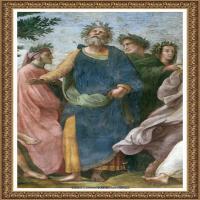 意大利杰出的画家拉斐尔Raphael神将治愈God has healed油画作品高清大图 (54)