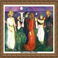 爱德华蒙克Edvard Munch挪威表现主义画家绘画作品集蒙克作品高清图片 (25)