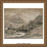 英国画家托马斯庚斯博罗Thomas Gainsborough肖像画风景画素描速写作品高清图片 (15)