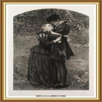 十九世纪英国画家约翰埃弗里特米莱斯John Everett Millais拉斐尔前派画家 (19)