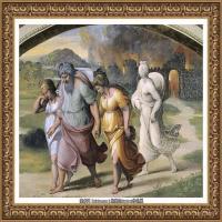 意大利杰出的画家拉斐尔Raphael神将治愈God has healed油画作品高清大图 (90)