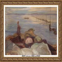 爱德华蒙克Edvard Munch挪威表现主义画家绘画作品集蒙克作品高清图片 (29)