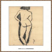 阿梅代奥莫迪利亚尼Amedeo Modigliani意大利著名画家绘画作品集手稿素描作品高清图片FEMME NUE DE