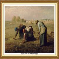 19世纪法国巴比松派画家让弗朗索瓦米勒Jean Francois Millet绘画作品集现实主义画家米勒 (7)