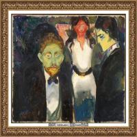 爱德华蒙克Edvard Munch挪威表现主义画家绘画作品集蒙克作品高清图片 (8)