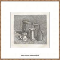 乔治莫兰迪Giorgio Morandi意大利著名的版画家油画家绘画作品集莫兰迪油画作品高清图片 (2)