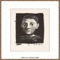 西班牙画家巴勃罗毕加索Pablo Picasso现代派素描毕加索手稿高清图片毕加索素描作品 (141)