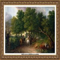 英国画家托马斯庚斯博罗Thomas Gainsborough肖像画家及风景图片 (147)