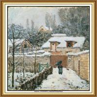 阿尔弗莱德西斯莱Alfred Sisley法国印象派画家世界著名画家风景油画高清图片 (34)