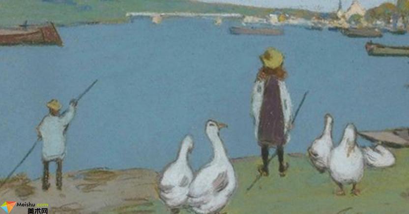 阿爾弗萊德·西斯萊Alfred Sisley-油畫展(二)
