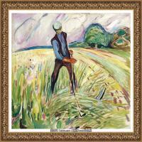 爱德华蒙克Edvard Munch挪威表现主义画家绘画作品集蒙克作品高清图片 (11)