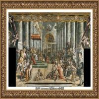 意大利杰出的画家拉斐尔Raphael神将治愈God has healed油画作品高清大图 (99)