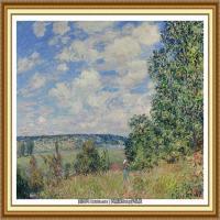 阿尔弗莱德西斯莱Alfred Sisley法国印象派画家世界著名画家风景油画高清图片 (7)