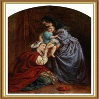 十九世纪英国画家约翰埃弗里特米莱斯John Everett Millais拉斐尔前派画家 (12)