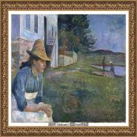 爱德华蒙克Edvard Munch挪威表现主义画家绘画作品集蒙克作品高清图片 (33)