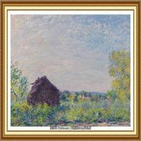 阿尔弗莱德西斯莱Alfred Sisley法国印象派画家世界著名画家风景油画高清图片 (41)