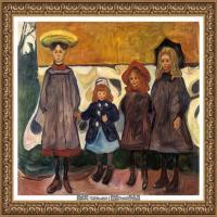 爱德华蒙克Edvard Munch挪威表现主义画家绘画作品集蒙克作品高清图片 (3)