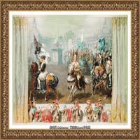 阿道夫门采尔Adolf Menzel德国著名油画家版画家插图画家绘画作品集西方绘画大师经典作品集 (16)