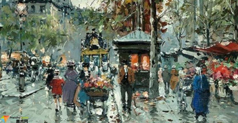 安托万·布兰查德-油画展(二)