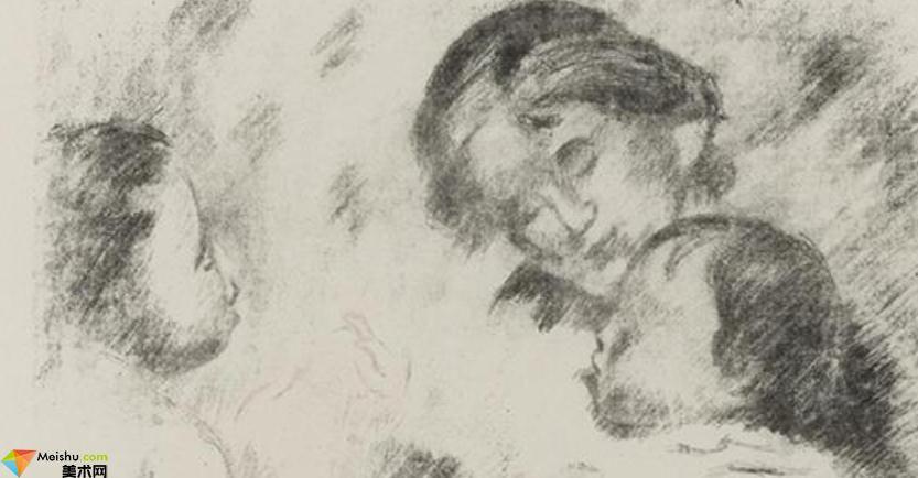 法国画家雷诺阿-素描展