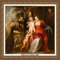 彼得保罗鲁本斯Peter Paul Rubens德国巴洛克画派画家古典油画人物高清图片宗教油画高清大图 (6)