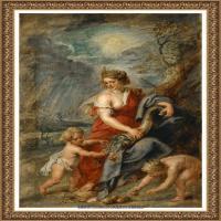 彼得保罗鲁本斯Peter Paul Rubens德国巴洛克画派画家古典油画人物高清图片宗教油画高清大图 (94)